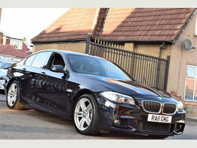 BMW 5 SERIES Saloon 3.0 528i M Sport 4dr