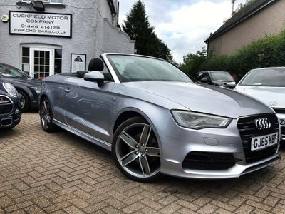 AUDI A3 CABRIOLET Convertible 2.0 TDI S line Cabriolet S Tronic quattro 2dr