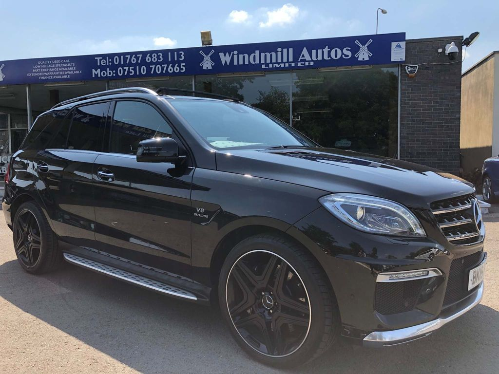 MERCEDES-BENZ M CLASS SUV 5.5 ML63 AMG (Premium) Speedshift Plus 7G-Tronic 4MATIC 5dr