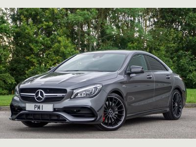 MERCEDES-BENZ CLA CLASS Coupe 2.0 CLA45 AMG Night Edition SpdS DCT 4MATIC (s/s) 4dr