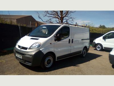 VAUXHALL VIVARO Other 1.9 Di 2700 Panel Van 4dr (SWB)