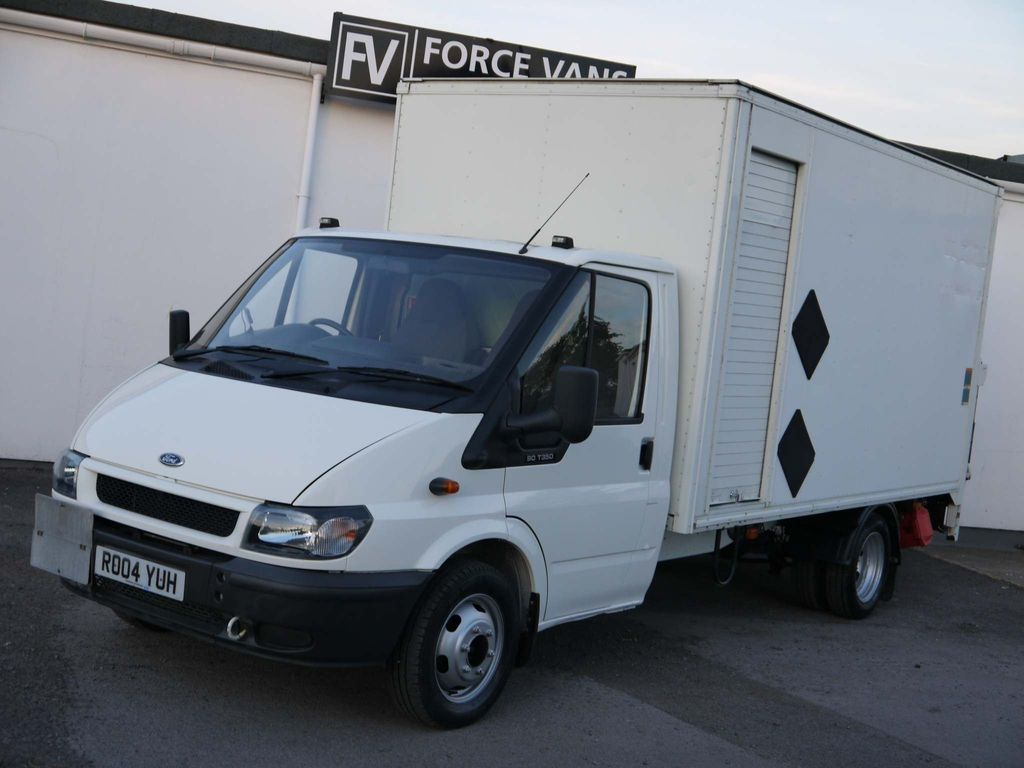 FORD TRANSIT Chassis Cab JUMBO LUTON BOX TAIL LIFT REMOVALS TRUCK
