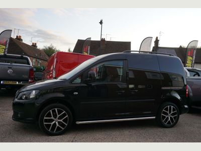 VOLKSWAGEN CADDY Panel Van 2.0 TDI BlueMotion Tech C20 Black Edition Panel Van 5dr