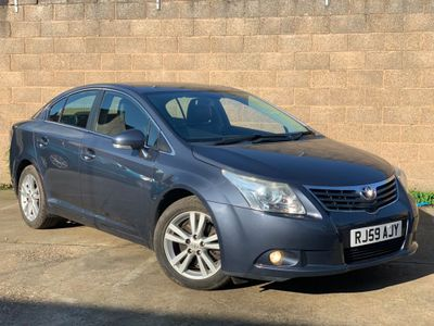 TOYOTA AVENSIS Saloon 2.2 D-CAT T4 4dr