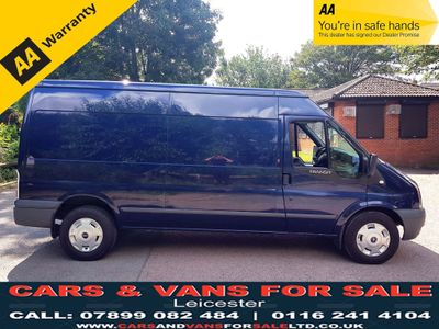 FORD TRANSIT Panel Van 2.4 TDCi 350 LWB Medium Roof Van Duratorq 3dr