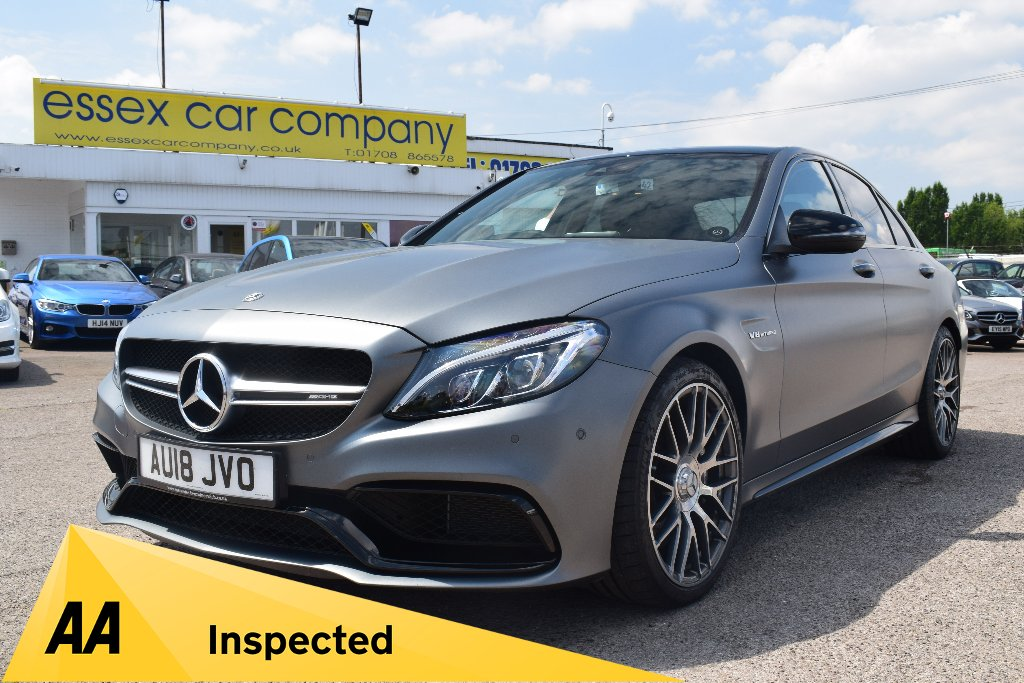 MERCEDES-BENZ C CLASS Saloon 4.0 C63 AMG Speedshift MCT (s/s) 4dr