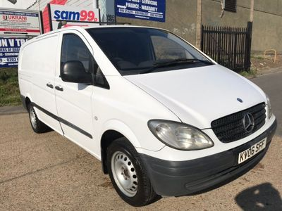 MERCEDES-BENZ VITO Panel Van 2.1 109CDI Dualiner Basic High Roof Long Panel Van 5dr