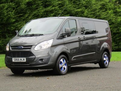 FORD TRANSIT CUSTOM Other 2.0 TDCi 290 L2H2 Limited Panel Van 5dr (EU6)