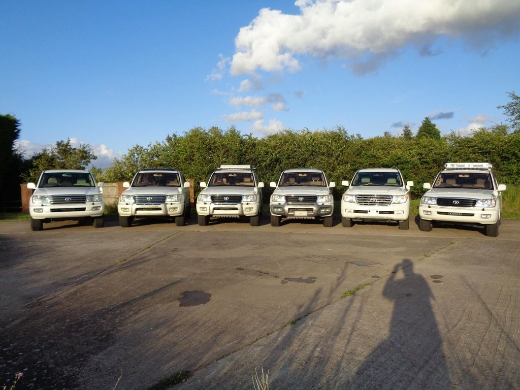 TOYOTA LAND CRUISER AMAZON SUV Choice of 6 Various Specs 4.7 V8 GD 4 +