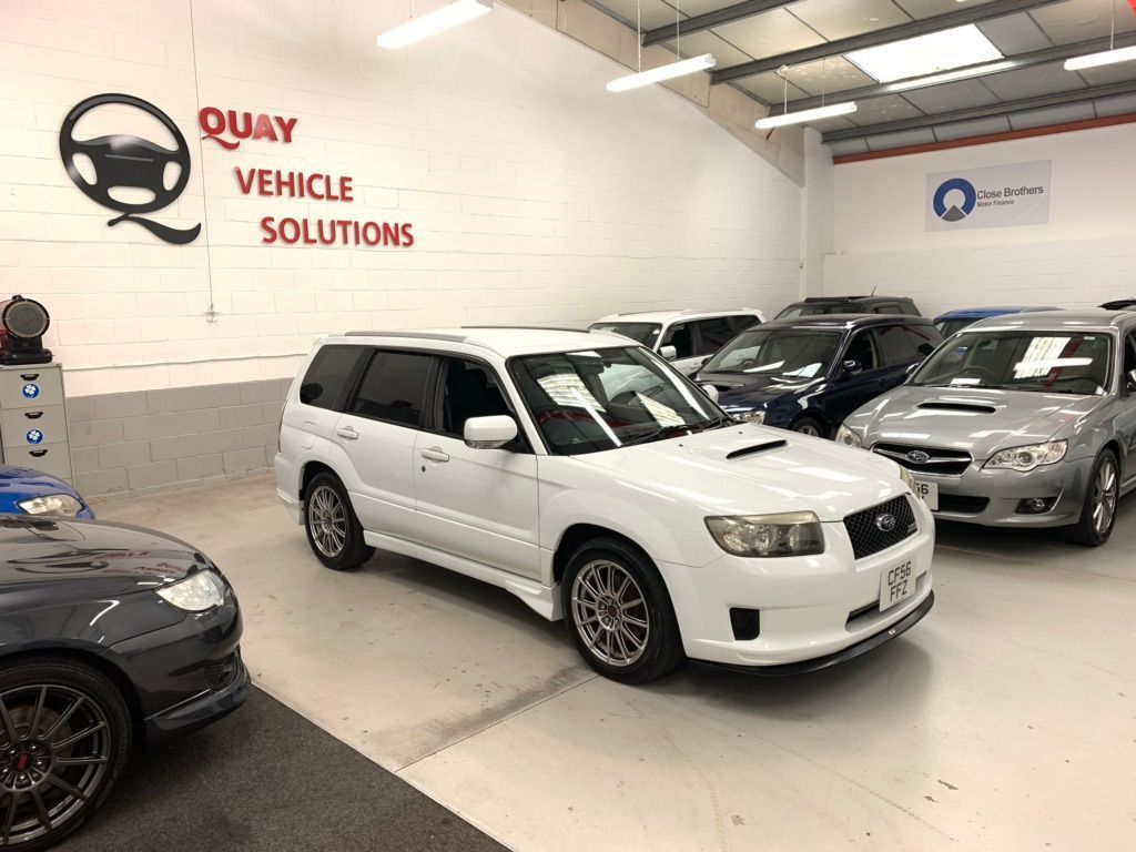 "SUBARU FORESTER SUV JDM SG5 CROSS SPORTS ""S"" EDITION"