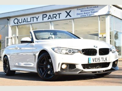 BMW 4 SERIES Convertible 3.0 435d M Sport xDrive 2dr