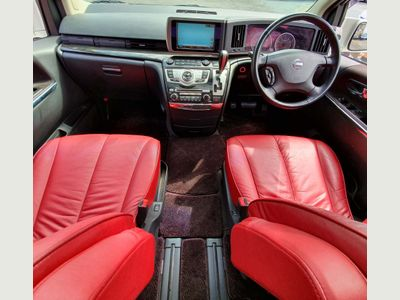 NISSAN ELGRAND MPV HWS+360 VIEW +RED LEATHER PREMIUM SEL