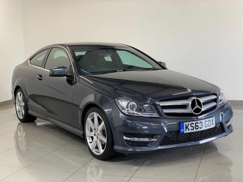 MERCEDES-BENZ C CLASS Coupe 2.1 C220 CDI BlueEFFICIENCY AMG Sport 7G-Tronic Plus 2dr (COMAND)