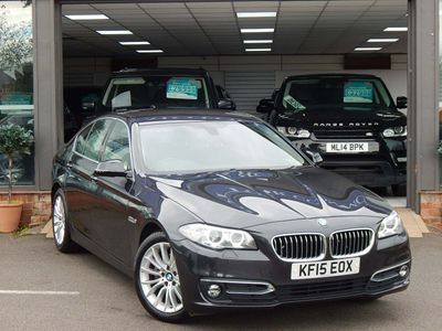 BMW 5 SERIES Saloon 2.0 520d Luxury 4dr