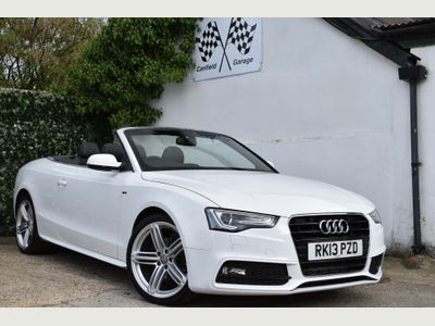 AUDI A5 CABRIOLET Convertible 2.0 TDI S line Special Edition Cabriolet CVT 2dr