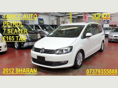 VOLKSWAGEN SHARAN MPV Auto petrol. 7 seater. £165 year tax