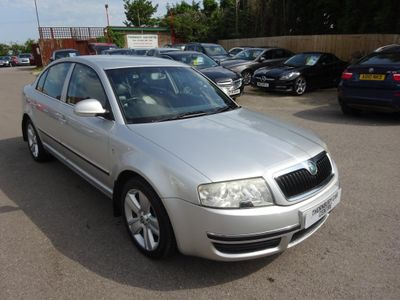SKODA SUPERB Saloon 2.0 TDI PD Elegance 4dr