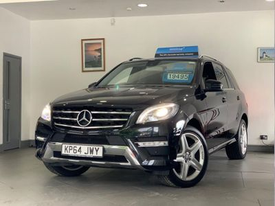 MERCEDES-BENZ M CLASS SUV 2.1 ML250 CDI BlueTEC AMG Line 7G-Tronic Plus 4x4 5dr