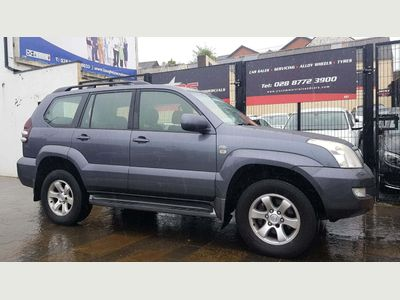 TOYOTA LAND CRUISER SUV 3.0 D-4D LC3 5dr