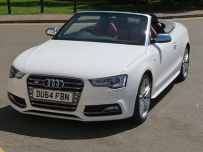AUDI S5 Convertible 3.0 TFSI Cabriolet S Tronic quattro 2dr