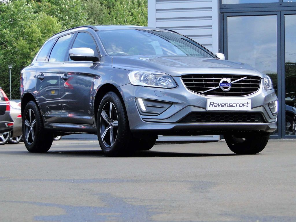VOLVO XC60 SUV 2.0 T5 R-Design Nav Geartronic (s/s) 5dr