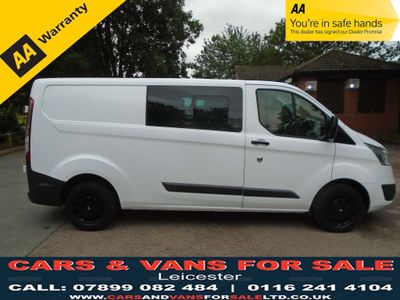 FORD TRANSIT CUSTOM Other 2.2 TDCi 290 L1H1 Trend Double Cab-in-Van 5dr