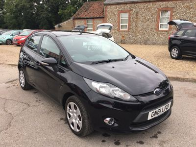 FORD FIESTA Hatchback 1.4 TDCi DPF Style 5dr