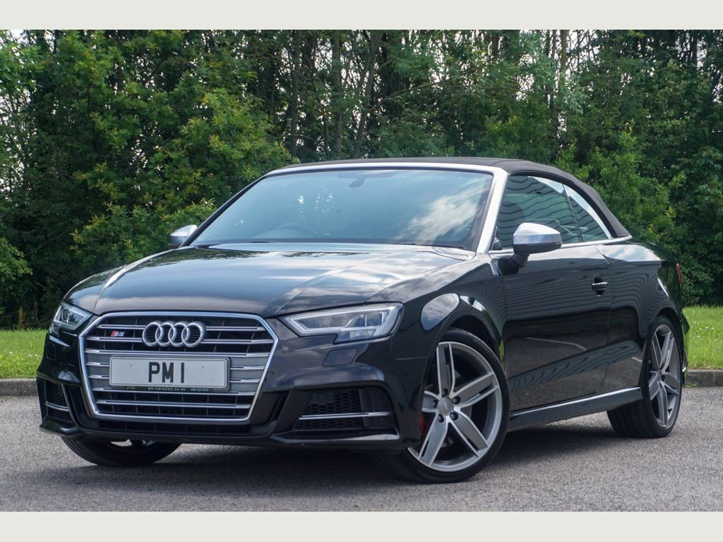 AUDI S3 Convertible 2.0 TFSI Cabriolet S Tronic quattro (s/s) 2dr