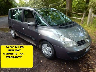RENAULT ESPACE MPV 2.0 T Expression 5dr