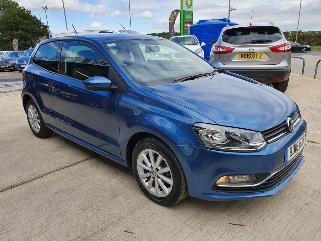 VOLKSWAGEN POLO Hatchback 1.4 TDI BlueMotion Tech Match (s/s) 3dr