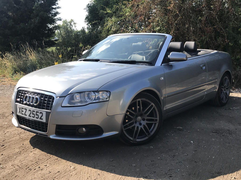 AUDI A4 CABRIOLET Convertible 2.0 TFSI S line Cabriolet 2dr