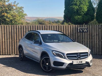 MERCEDES-BENZ GLA CLASS SUV 2.1 GLA220 CDI AMG Line (Premium) 7G-DCT 4MATIC 5dr
