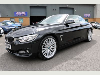 BMW 4 SERIES Convertible 3.0 435i Luxury 2dr