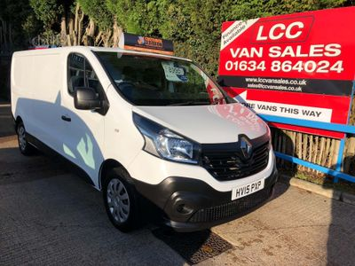 RENAULT TRAFIC Panel Van 1.6 dCi LL29 Business Low Roof Van 5dr