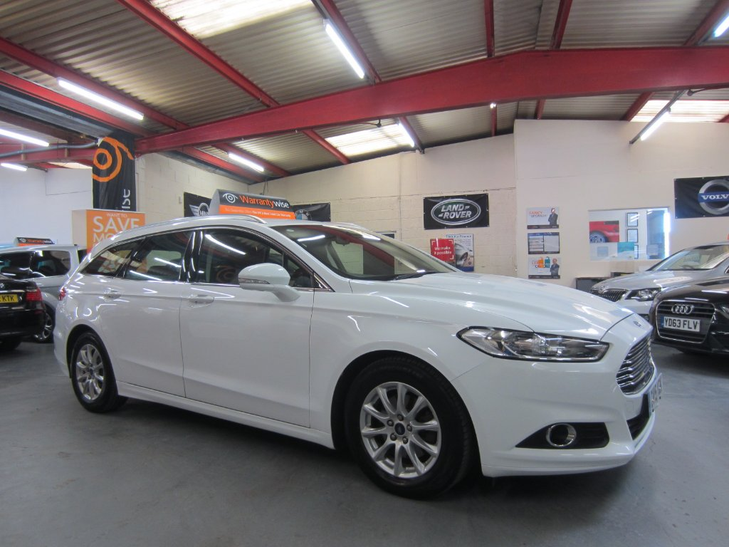FORD MONDEO Estate 1.6 TDCi ECOnetic Zetec (s/s) 5dr