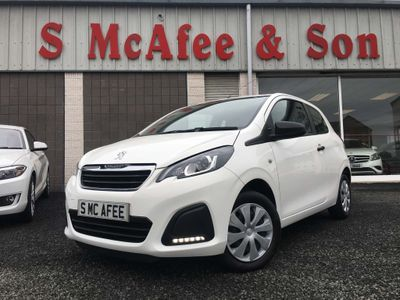PEUGEOT 108 Hatchback 1.0 Access 3dr
