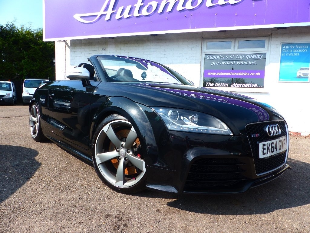 AUDI TT RS Convertible 2.5 TFSI RS Roadster quattro 2dr