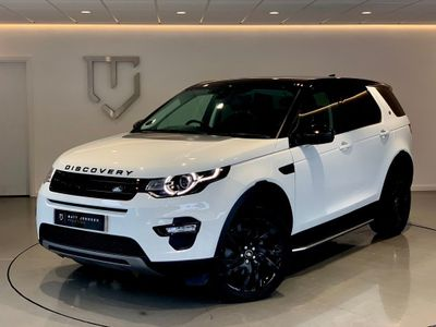 LAND ROVER DISCOVERY SPORT SUV 2.0 Si4 HSE Auto 4WD (s/s) 5dr 7 Seat