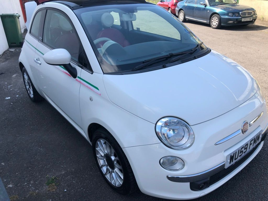 FIAT 500C Convertible 1.2 Lounge (s/s) 2dr