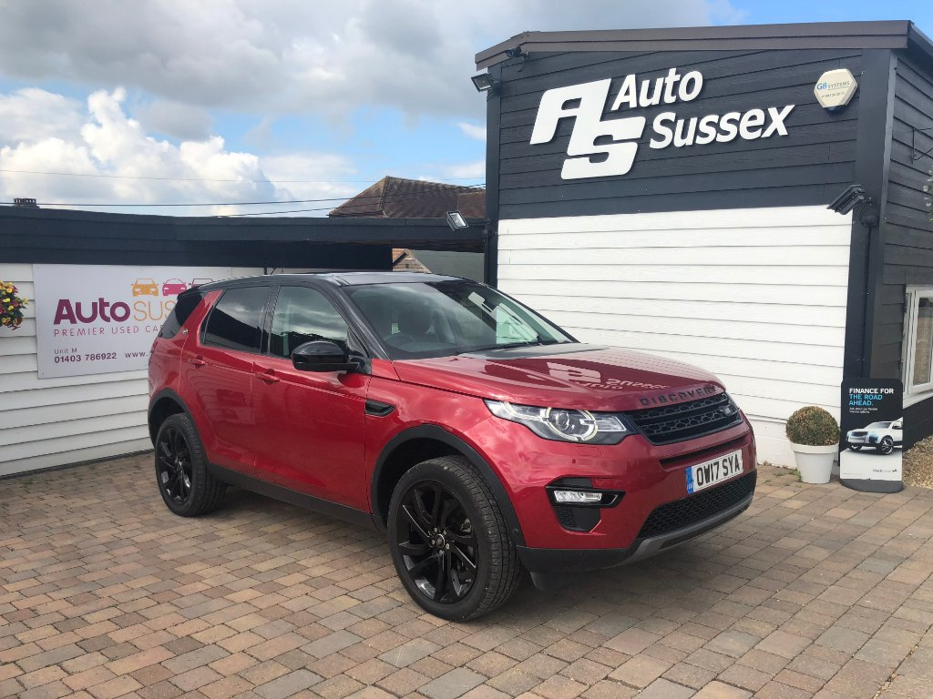 LAND ROVER DISCOVERY SPORT SUV 2.0 TD4 HSE Luxury 4X4 (s/s) 5dr