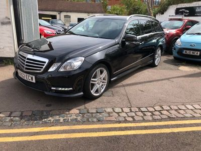 MERCEDES-BENZ E CLASS Estate 2.1 E220 CDI BlueEFFICIENCY Sport 7G-Tronic Plus (s/s) 5dr