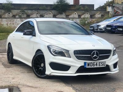 MERCEDES-BENZ CLA CLASS Coupe 2.1 CLA200 CDI AMG Sport (s/s) 4dr