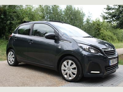 PEUGEOT 108 Convertible 1.0 VTi Active Top! 2 Tronic 5dr