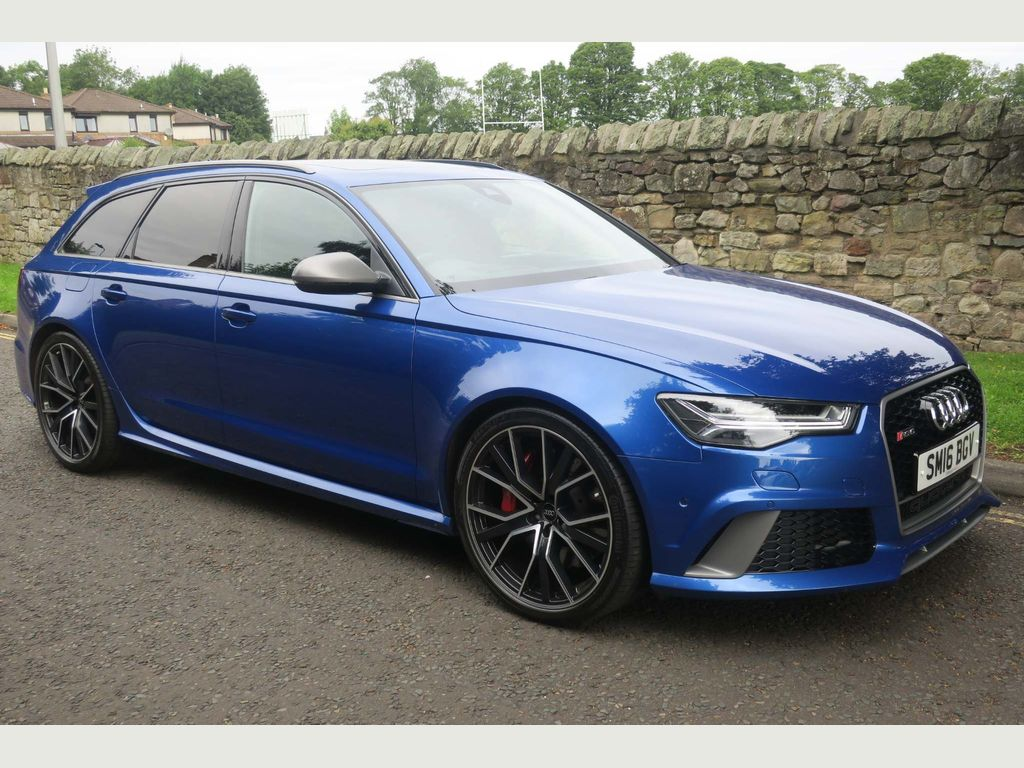 AUDI RS6 AVANT Estate 4.0 TFSI V8 Performance Avant Tiptronic quattro (s/s) 5dr