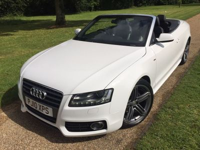 AUDI A5 CABRIOLET Convertible 2.0 TDI S line Cabriolet 2dr