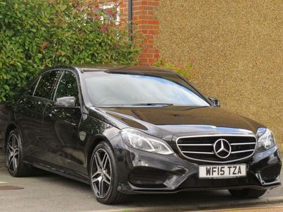 MERCEDES-BENZ E CLASS Saloon 2.1 E300 CDI BlueTEC AMG Night Edition 7G-Tronic Plus 4dr