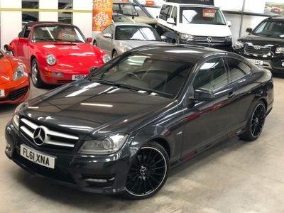 MERCEDES-BENZ C CLASS Coupe 2.1 C220 CDI BlueEFFICIENCY AMG Sport Edition Edition 125 2dr