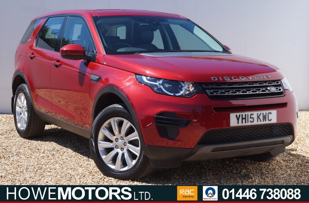 LAND ROVER DISCOVERY SPORT SUV 2.2 SD4 SE 4X4 5dr