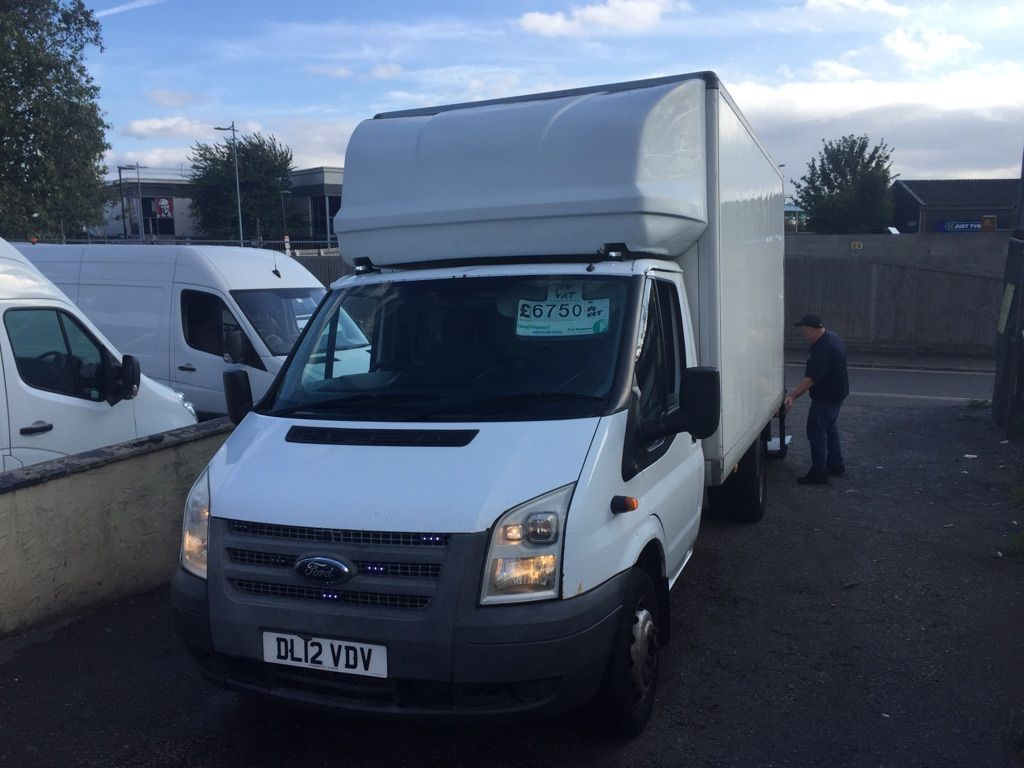 FORD TRANSIT Luton T350 lwb luton with tailgate