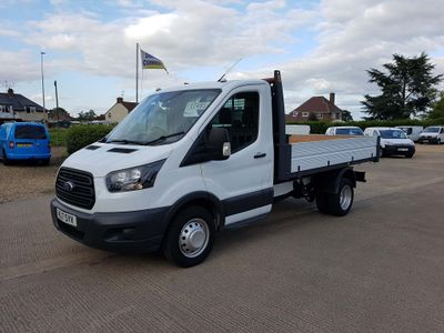 FORD TRANSIT Tipper 2.0 TDCi 350 L2H1 1-Way Tipper RWD 2dr (EU6, DRW)